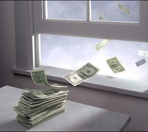 Money Out Window